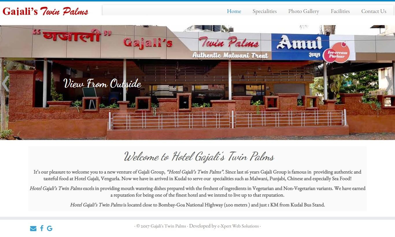 Hotel Gajali's Twin Palms